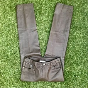 Newport New's Genuine 100% Leather Pants Size 10